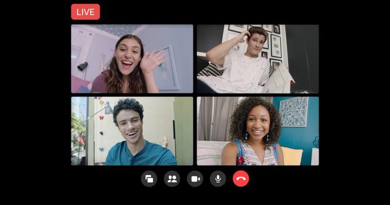 تعلن فيسبوك عن ميزة جديدة لمشاهدة الجماعية في مكالمات المسنجر المرئية