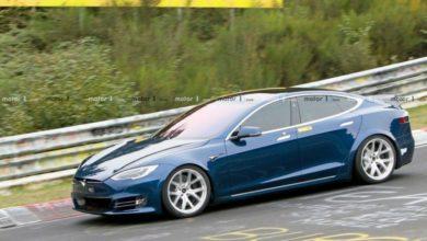 صورة شركة تيسلا تكشف عن سيارة تيسلا من طراز Model S Plaid