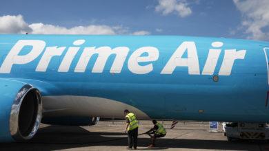 صورة شركة Amazon تنافس FedEx و UPS بطائراتها الجديدة