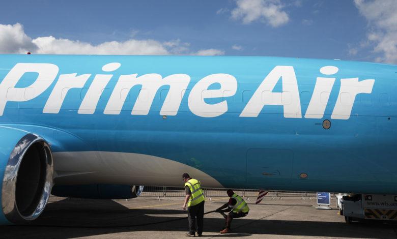 شركة Amazon تنافس FedEx و UPS بطائراتها الجديدة