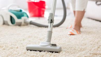 صورة حيل منزلية لطرق تنظيف السجاد