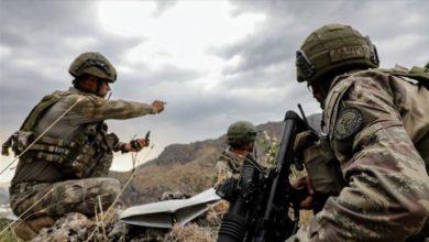 """صورة مقتل جنديين تركيين خلال """"مخلب النمر"""" بشمالي العراق"""