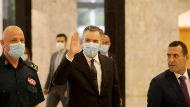 صورة مصطفى أديب يعتذر عن تشكيل الحكومة اللبنانية