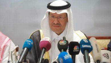 """صورة وزير الطاقة السعودي يحذر المقامرين في سوق النفط من """"وجع كالجحيم"""""""
