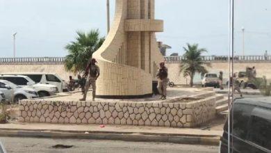 صورة صور| ميليشيا مدعومة من الإمارات تفرق بالنار تظاهرة ضد سوء الخدمات بحضرموت
