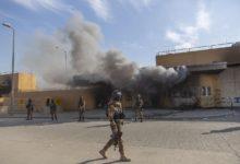 """صورة السفارة الأمريكية في بغداد تبحث إغلاق أبوابها بسبب """"الصواريخ"""""""