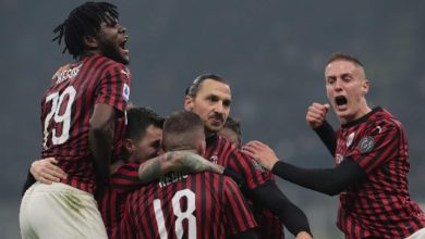 صورة الفوز الثاني لأندية ميلان ونابولي بالدوري الإيطالي