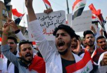 """صورة مراقبون: """"لا شيء تغير"""".. ثورة العراق بعد سنة.. حكومة جديدة و600 قتيل"""