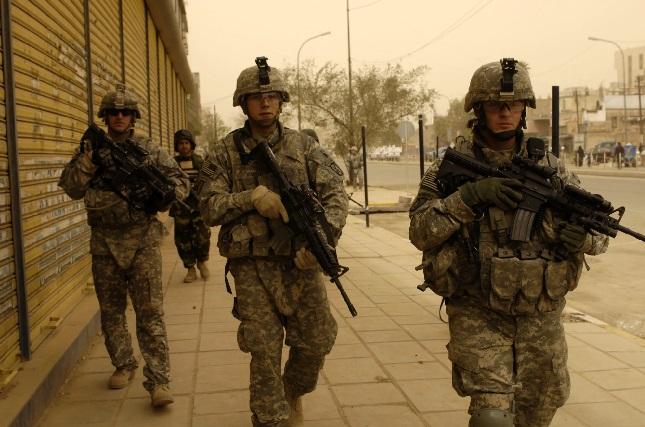 أمريكا تخفض عدد جنودها في العراق