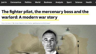 صورة ABC News: مرتزقة أستراليون بتوجيه إماراتي للعبث في ليبيا