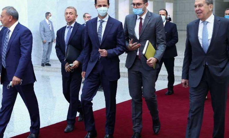الأسد يبحث عن استثمارات روسية لمواجهة العقوبات الأمريكية