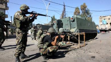 صورة لبنان: مقتل 4 الجيش ومسلح بمداهمة في طرابلس