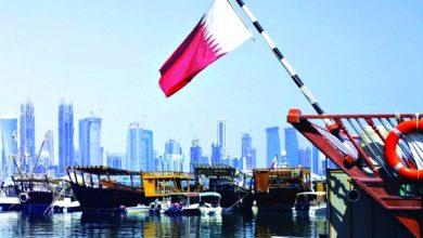 صورة قطر: لا علاقات دبلوماسية مع إسرائيل قبل التوصل إلى حل القضية الفلسطينية