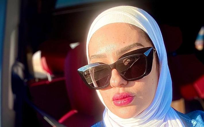 مي فخري بعد ارتدائها الحجاب