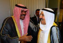 صورة اليوم انتقال العهد والحكم في الكويت بين أميرين