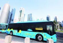 صورة ربع حافلات النقل العام في قطر ستصبح كهربائية بحلول 2022
