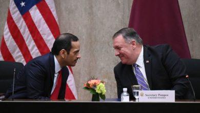 صورة بومبيو: إدارة ترامب حريصة على إنهاء الخلاف الخليجي