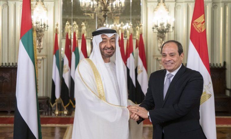 """مصدر لـ""""الوطن"""": اتصال بن زايد بـ السيسي حمل دعمًا غير محدود لقمع تظاهرات مصر"""