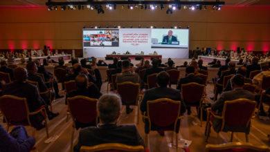 صورة مفاوضات مباشرة بين حكومة أفغانستان وطالبان لأول مرة في الدوحة