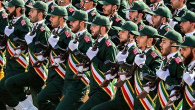 """صورة الحرس الثوري الإيراني: """"على حاكم البحرين انتظار الانتقام الشديد"""""""