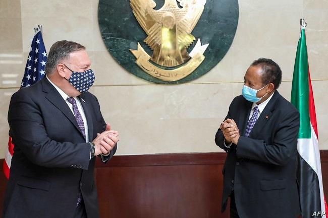 أمريكا اشترطت التطبيع مع إسرائيل لرفع السودان من قائمة الإرهاب