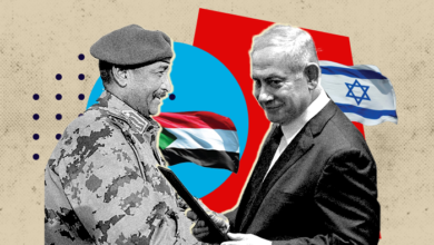 صورة الإذاعة الإسرائيلية: وفد رسمي من إسرائيل زار السودان تمهيدًا لإعلان التطبيع