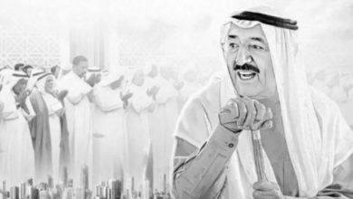 بعض من نجوم الخليج ينعون أمير الكويت