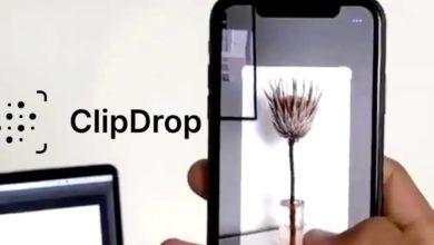 صورة تطبيق ClipDrop الجديد يجعل الواقع المعزز عمليًا
