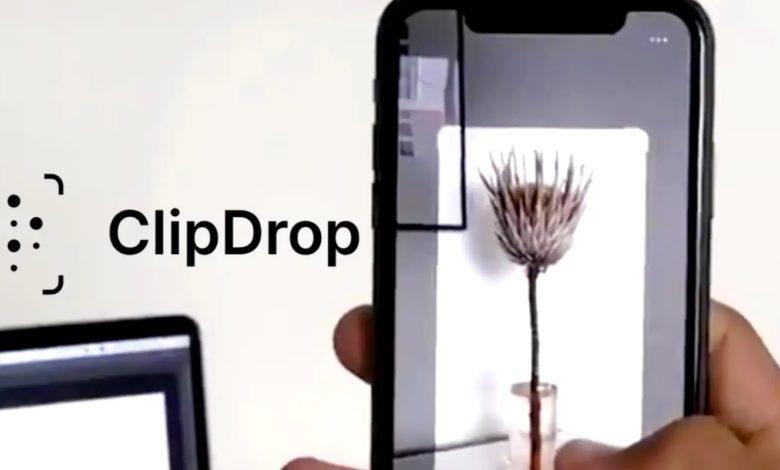 تطبيق Clip Drop