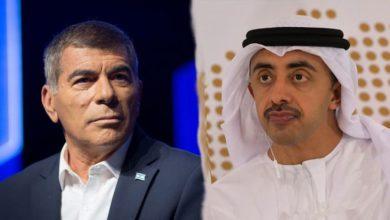 وزيرا خارجية إسرائيل والإمارات يجتمعان لأول مرة منذ إعلان التطبيع
