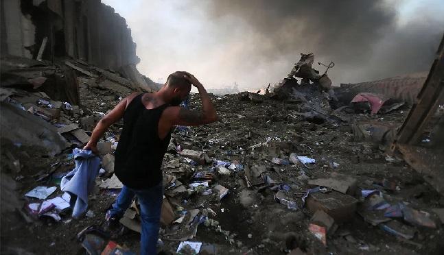 الأمم المتحدة تقدم 600 دولار لكل عائلة متضررة من انفجار مرفأ بيروت