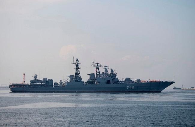 البحرية المصرية ونظيرتها الروسية تنفذان تدريبات عسكرية مشتركة لأول مرة في البحر الأسود