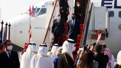 وفد إسرائيلي يصل البحرين لتوقيع اتفاقات ثنائية
