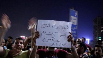 شهدت المظاهرات الأخيرة ضد نظام الرئيس السيسي حملة اعتقالات واسعة شملت وفق تقديرات نحو ألف شخص