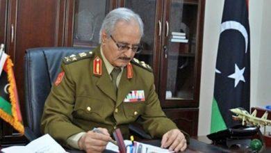 صورة دور حفتر يتلاشى ومسار الحرب تغير في ظل الحوار السياسي في ليبيا
