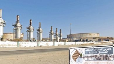 إنتاج النفط في ليبيا وصل إلى 1.2 مليون برميل يومياً قبل إغلاق المنشآت النفطية