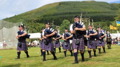 صورة استطلاعات الرأي تدعم استقلال اسكتلندا عن بريطانيا