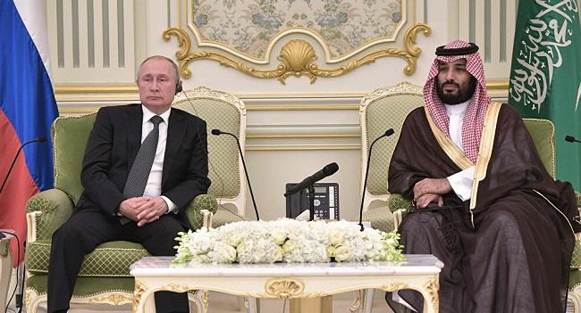 بوتين وبن سلمان بحثا أوبك+ وأوضاع أسواق النفط في ظل جائحة كورونا وتقلبات الأسعار