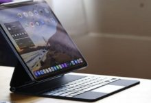 صورة حزمة إنتاجية خاصة بـ أوفيس عبر آيباد تدعم الفأرة ولوحة التتبع