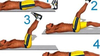 صورة ممارسة تمارين عضلات البطن السفلى تخلصك من الكرش نهائياً