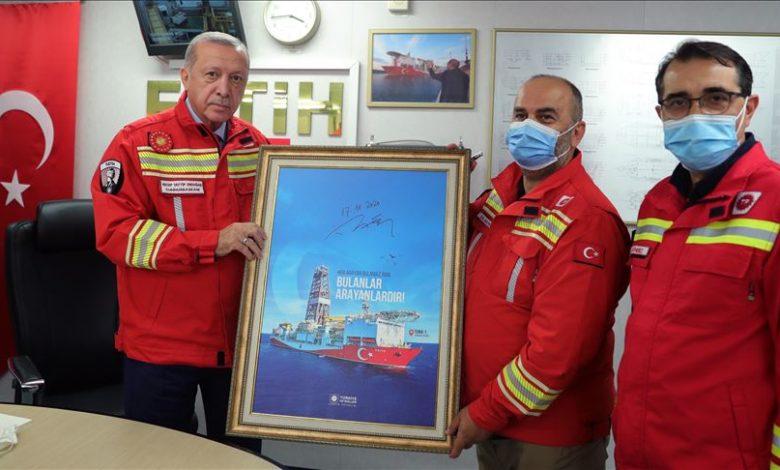 أردوغان يعلن اكتشاف المزيد من احتياطيات الغاز في البحر الأسود