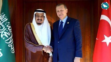 اردوغان و ملك السعودية