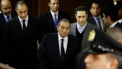 التحفظ على أموال مبارك