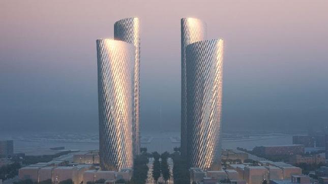 ما قصة أبراج الألومنيوم في قطر ؟