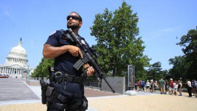 مبنى الكونغرس الأمريكي يغلق بسبب وجود تهديد أمني