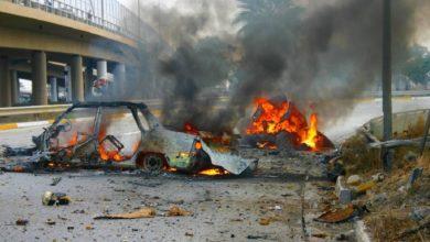 قتلى تفجير بغداد يرتفع إلى 25