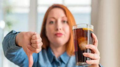 المشروبات الخالية من السكر
