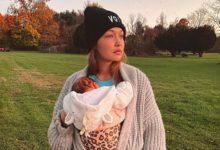 جيجي حديد و ابنتها