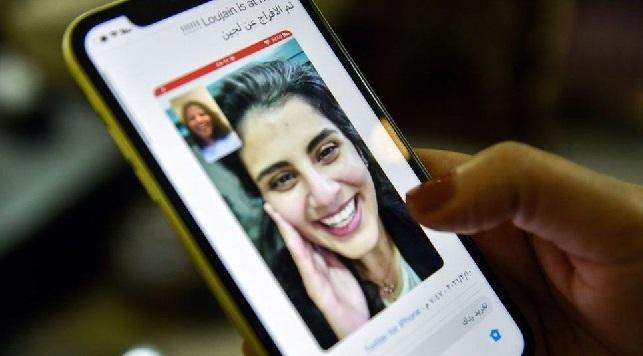 السعودية الناشطة لجين الهذلول