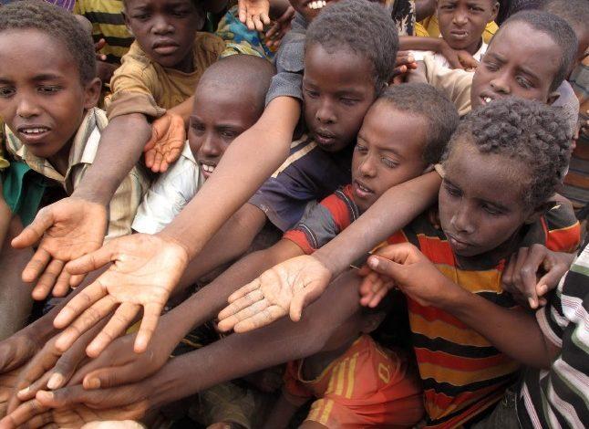المجاعة تهدد 800 ألف طفل في الصومال